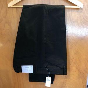 Gap NWT slim cropped black pants, 8
